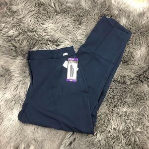 Badgley Mischka | Women's Navy Dress Pant